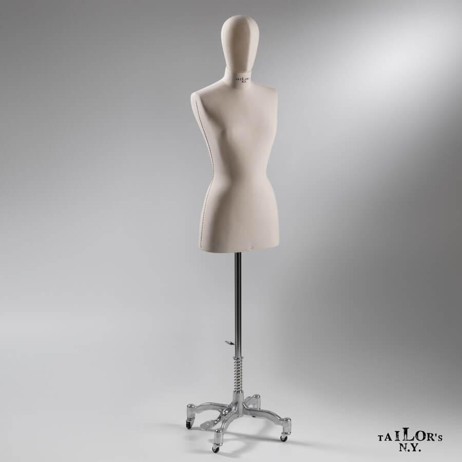 manichino tailor's donna con testa