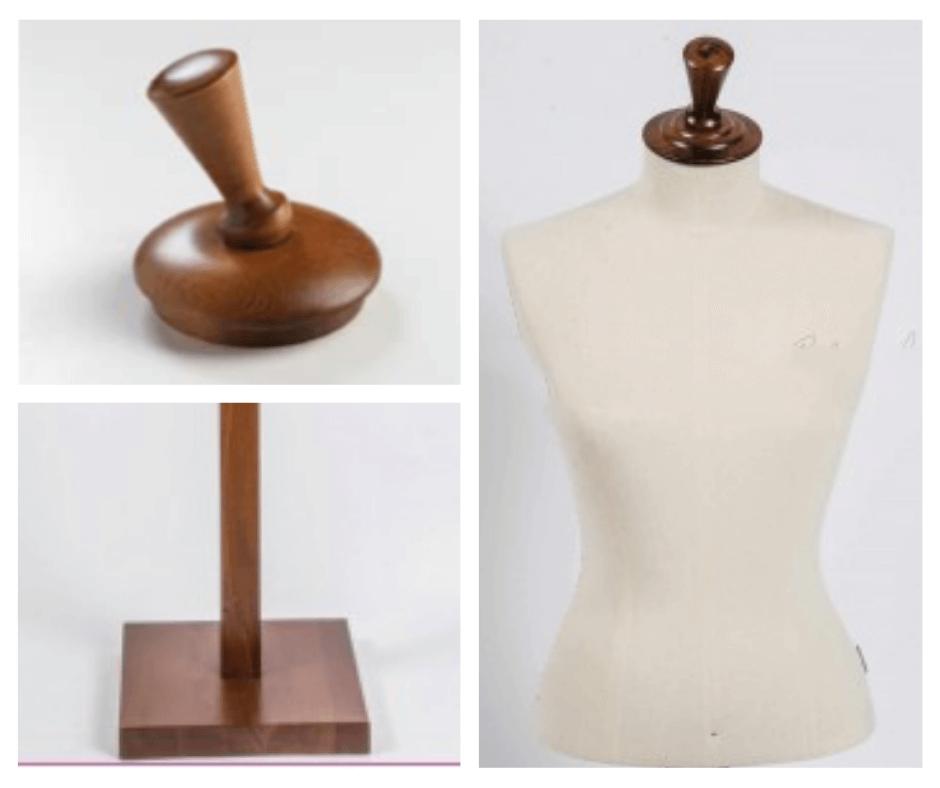 manichino donna tailor's legno