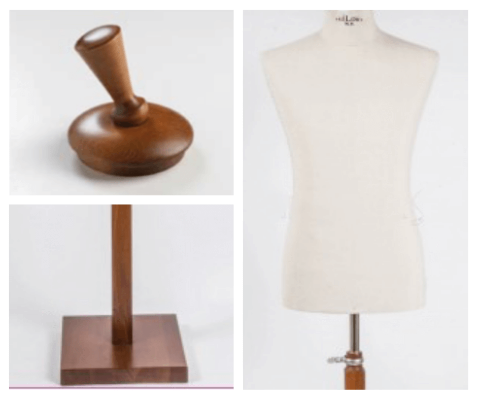 manichino uomo tailor's legno