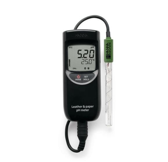 pHmetro portatile per cuoio e carta - HI99171